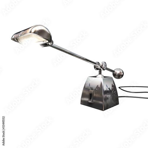 Tischlampe Metall F2
