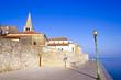Porec - old Adriatic town in Croatia, Istria region. Popular tou