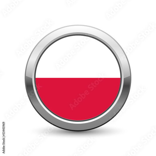 Polish flag icon web button