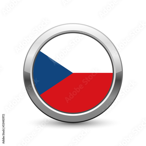 Czech flag icon web button