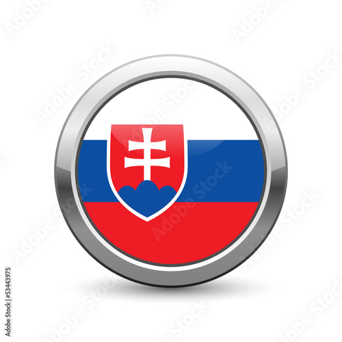 Slovak flag icon web button