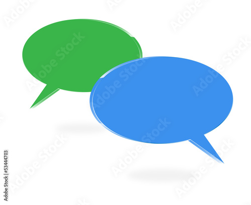speech bubble 3d - callout