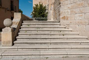escaleras catedral zamora