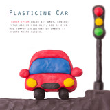Plasticine car light