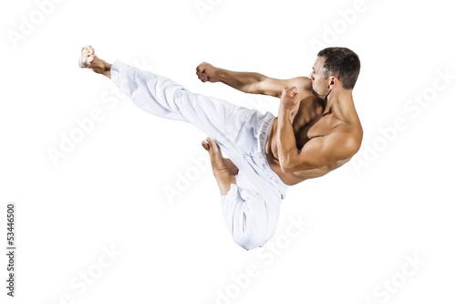 Fototapeten,karate,martial,taekwondo,sprung