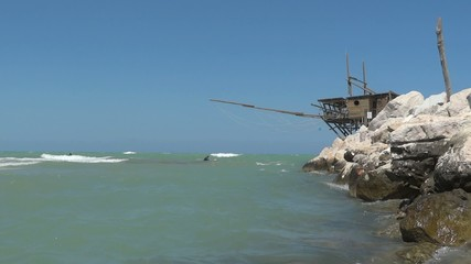 trabocco in molise