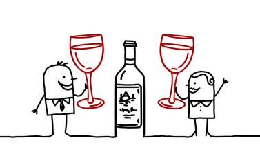 couple & wine