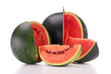 isolated fresh watermelon