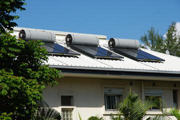 Île de la Réunion - Chauffe-eau solaire