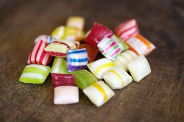 Bunte Bonbons