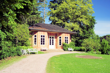 Pavillon Schlosspark Tiefurt bei Weimar