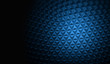 Blue modern polygonal background