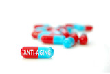 Anti-aging pill poster