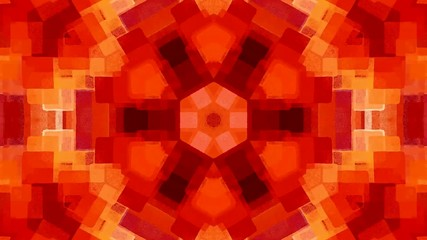 abstract kaleidoscope animation