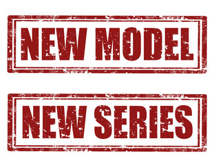 New Model-New Series -stamps