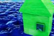 Hochwasser - 3D Render - 53454927