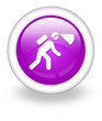 """Violet Icon """"Caving / Spelunking"""""""