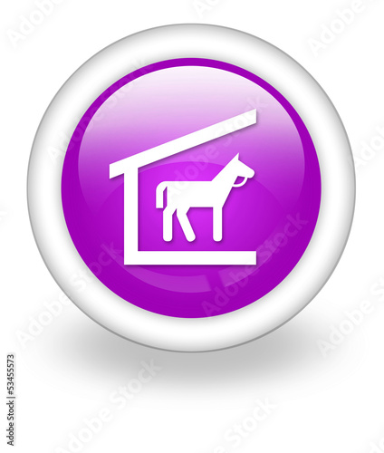 """Violet Icon """"Stable"""""""