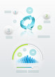 Recycle and community infographics