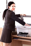 Secretary Printing Documents
