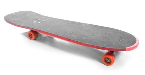 The skateboard.