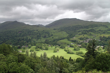 View from a Fell in the Lake District