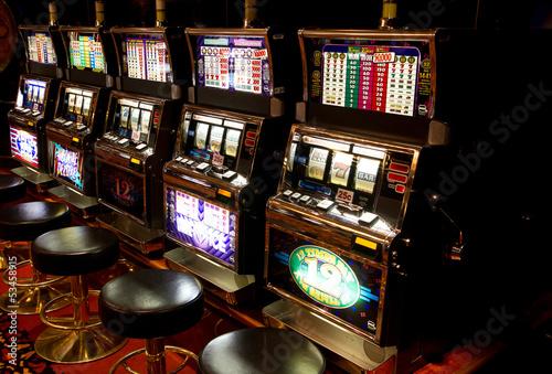 Foto op Canvas Las Vegas slot machine