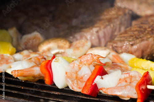 bbq surf and turf