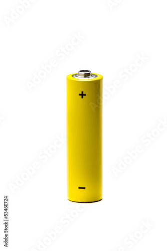 Battery Yellow AA