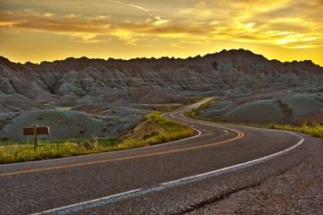 Badlands Highway HDR
