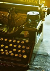 Old Vintage Typewriter