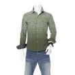 cotton plaid shirt on male mannequin