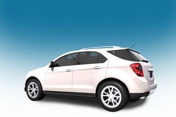SUV Car 3D Illustration