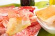 Gnocco fritto con salumi