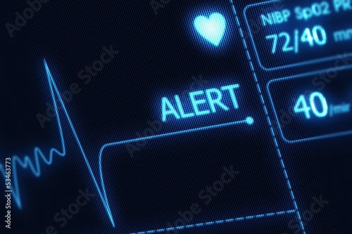 EKG Alert Illustration