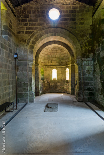 Romanesque church from Galicia, Spain