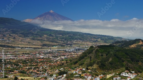 Teide volcano, time-lapse with motion