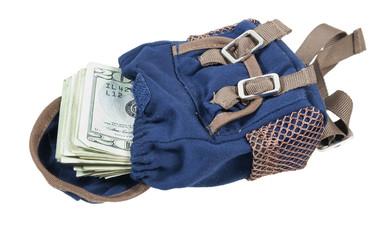 Backpack Full of Money