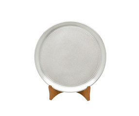 A luxury pewter dish for special dinner or home decoration