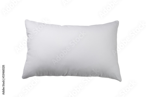 white pillow isolated on white background - 53466528