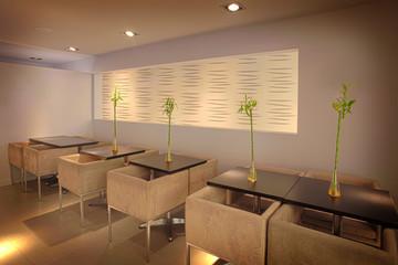 Fine dining sushi restaurant