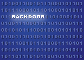 Backdoor Abstract Background