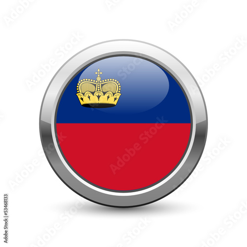 Liechtenstein flag icon web button