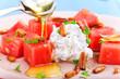 erfrischende Vorspeise im Sommer