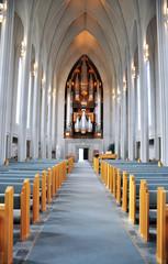 Reykjavik Church interior