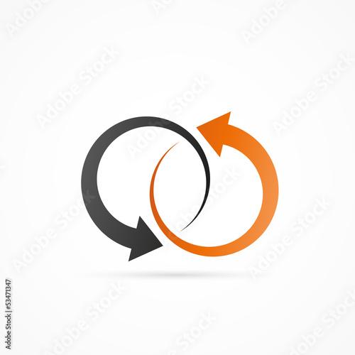 logo flèches