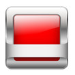 Red Web Button (sign badge icon symbol blank template square)