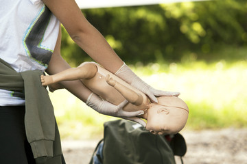 infant dummy first aid