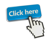 Click Here Button with Hand Cursor
