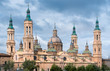 Pilar Cathedralin Zaragoza city Spain